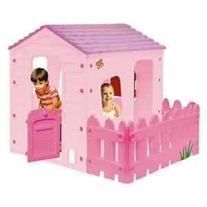 Cabane Enfant Plastique : maison plastique jouet les cabanes de jardin abri de jardin et tobbogan ~ Preciouscoupons.com Idées de Décoration