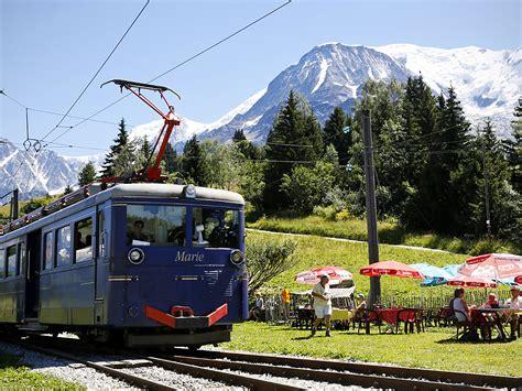les bains du mont blanc tramway du mont blanc in gervais les bains alps savoie mont blanc