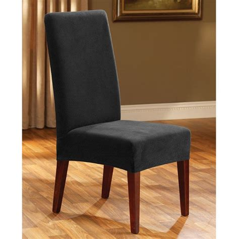 slipcover dining chair sure fit stretch pique dining room chair slipcover