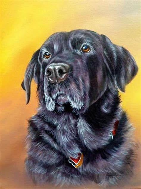 How To Paint A Dog In Acrylics Arttutor