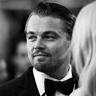 Leonardo DiCaprio Black and White