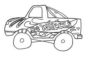 Hot Wheels Coloring Pages Printable Free