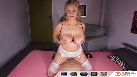 Old Lady Amateur Sex Drilling Experienced Cougar Vr Vr