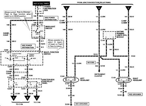 2003 Expedition Headlight Wiring Diagram by The Headlights Are Not Working On My 1998 Expedition What