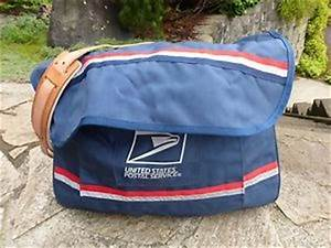 Usps letter carrier mail bag satchel new old stock with for Usps letter carrier satchel