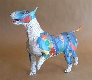 Sculpture En Papier Maché : 41 projets r alis s avec du papier m ch des id es ~ Melissatoandfro.com Idées de Décoration