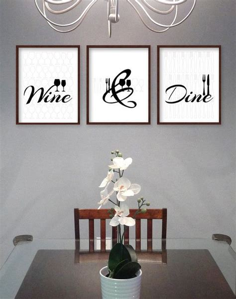Wall Decor Ideas For Dining Room Best 25 Dining Room Wall Ideas On Dining Wall Decor Ideas Dining Room Wall
