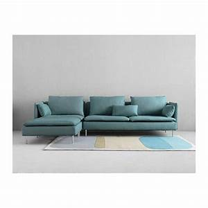 soderhamn sectional 4 seat samsta with chaise samsta With canape angle turquoise