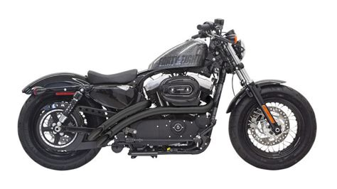 Bassani Radial Sweepers Exhaust System With Heat Shields