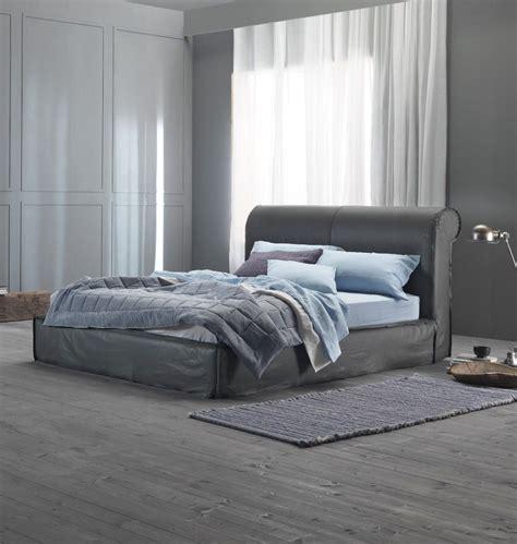 ideen schlafzimmer lederbett exklusives bett quot carducci quot 180 cm grau lederbett mit