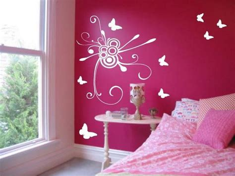 bedroom pink wall paint color of decorating ideas blue and