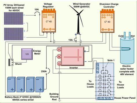 wiring   pv array solar