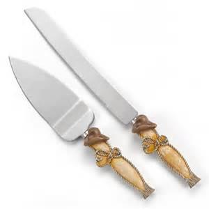 country flair wedding cake knife set - Wedding Cake Knife