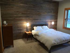 slatted barn wood wall rustic bedroom new york by With barnwood walls in bedroom