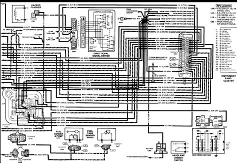 1990 Chevy K5 Blazer Radio Wiring Diagram by Ok I A 1990 C 1500 Scottsdale V 8 350 Tbi 700r400
