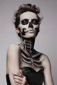Maquillage Squelette Facile : toutes les id es pour votre maquillage halloween skulls ~ Dode.kayakingforconservation.com Idées de Décoration