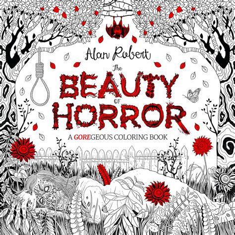 """塗る手が震える…… 世界一グロテスクな""""怖すぎるぬり絵""""『Beauty of Horror』がヴィレヴァンで予約開始 ..."""