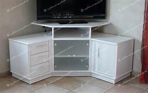 Meuble De Tele D Angle : meuble d 39 angle tv hifi colombo avec rangement meuble hifi et tv ~ Nature-et-papiers.com Idées de Décoration
