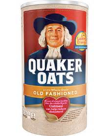Product: Hot Cereals Old Fashioned Quaker Oats