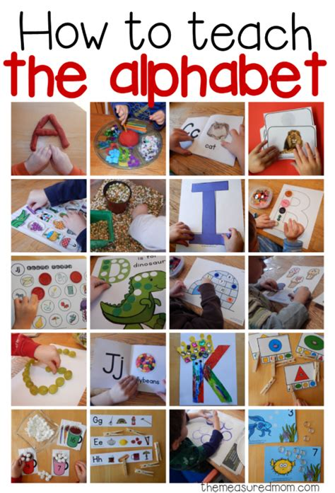 teaching letter sounds to preschoolers how to teach the alphabet collage image 845