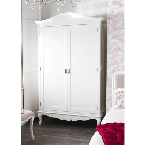 large shabby chic wardrobe shabby chic white double wardrobe bedroom furniture direct
