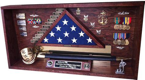Cutlass Case Shadowboxes Shadow Box Case Navy Chief