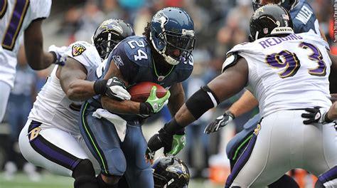 ravens seahawks series    lacking  drama