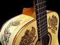 blueberry quot custom quot twelve string acoustic guitar floral motif with warranty ebay