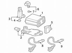 Buick Rainier Oxygen Sensor  Liter  Emission  Design