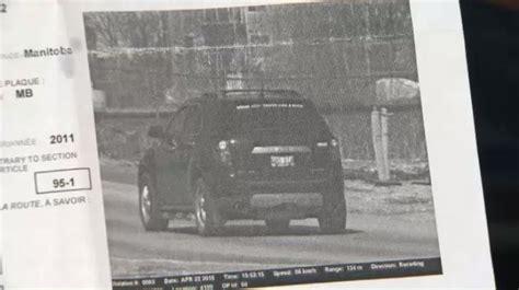 winnipeg man claims photo radar ticket doesnt match