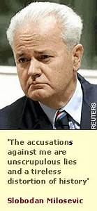Milosevic defies the rules as he launches trial defence ...