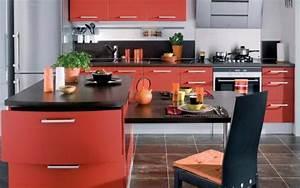 Les Plus Belles Cuisines : les plus belles cuisines de couleur rouge le ~ Voncanada.com Idées de Décoration