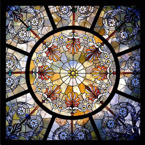 Stained Glass For Ceilings Domes