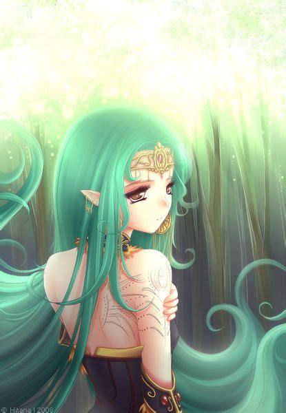 Anime Art Elf Princess Crown Circlet Long