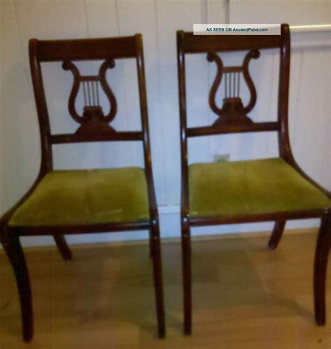 antique dining room chairs home design ideas regarding