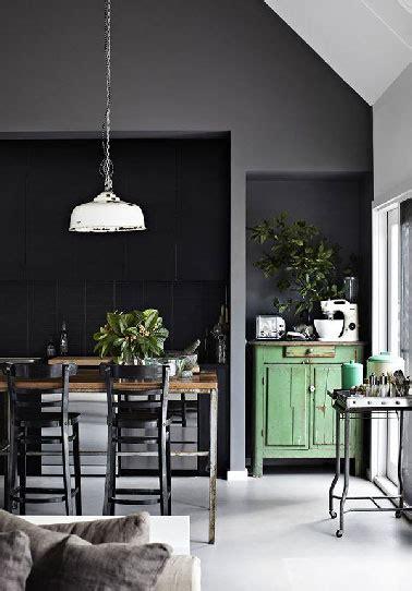 cuisine deco vintage déco cuisine vintage ouverte sur salon moderne gris