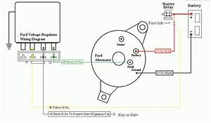 Wiring Diagram For A Jeep Cj7 Motorcraft External Regulator Alternator