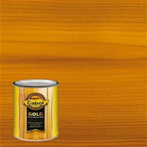 cabot decking stain 1480 home depot cabot 1 qt sun drenched oak gold exterior deck