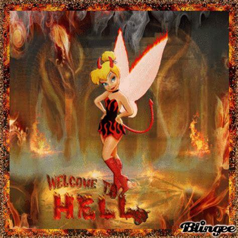 devil tinkerbell picture  blingeecom