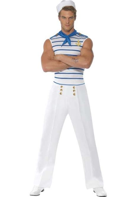 Nautical French Sailor Fancy Dress Costume