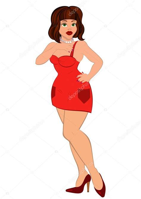 mulher dos desenhos animados em vermelho vestido vetores de stock 169 zebra finch