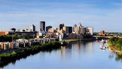 Minnesota Paul Saint Skyline Capital Wallpapers Cities
