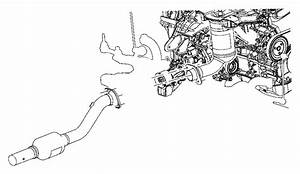 Dodge Caliber Catalytic Converter With Integrated Exhaust