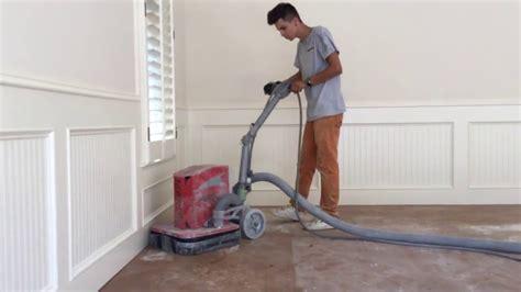 garage floor paint preparation diamond grind surface preparation for garage floor epoxy coating youtube