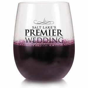 Personalized, 12, Oz, Hard, Plastic, Stemless, Wine, Glasses