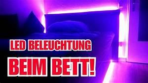 Bett Mit Led Beleuchtung Und Lautsprecher