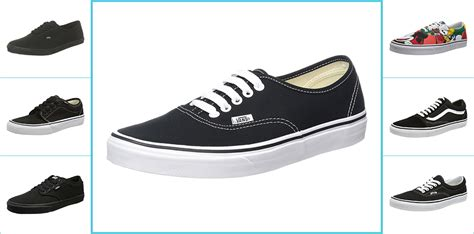 2 Types Of Vans Shoes,vans Black Edition