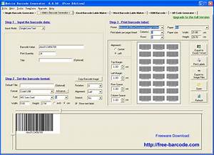 easiersoft barcode maker software barcode printer and With free label printing software excel