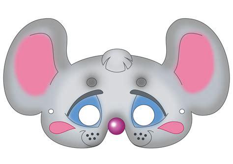 carnival masks template kids mouse mask template