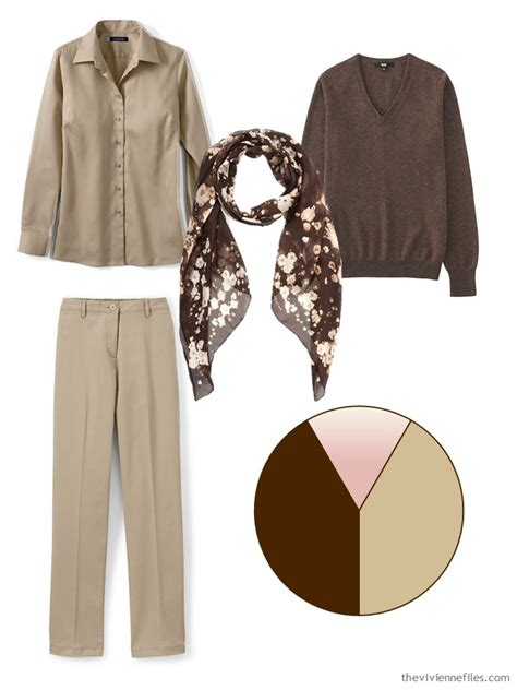 How to Build a Capsule Wardrobe 1 Piece at a Time Brown Khaki and Pink | The Vivienne Files